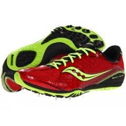 Běžecké tretry Saucony Shay XC3, red